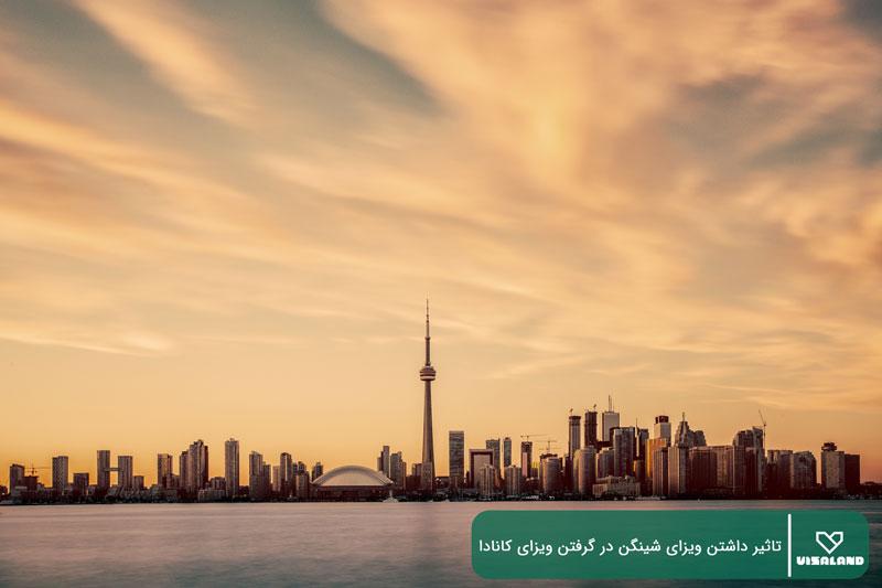 تاثیر داشتن ویزای شینگن در گرفتن ویزای کانادا