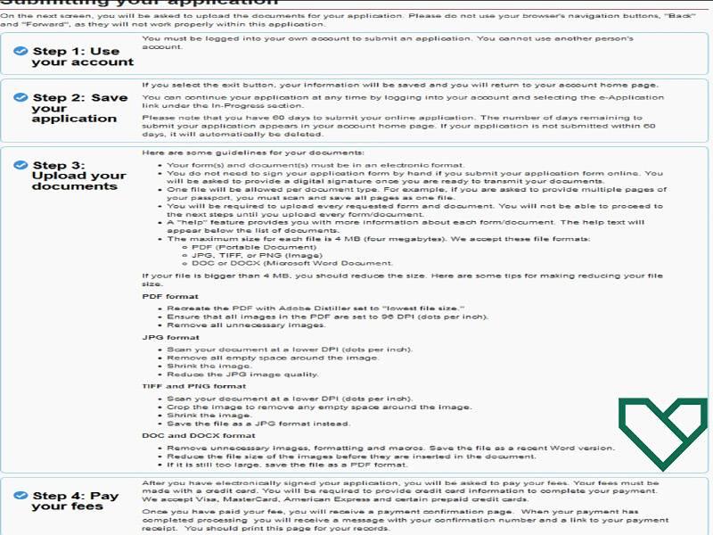 ارسال درخواست ویزای توریستی کانادا