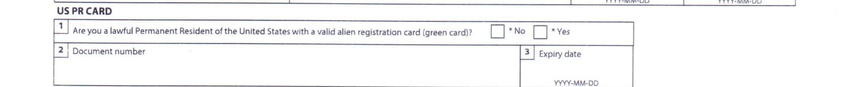 نحوه پر کردن فرم ویزای کانادا